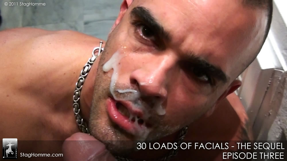 Damien Crosse Loves Cum Over His Face