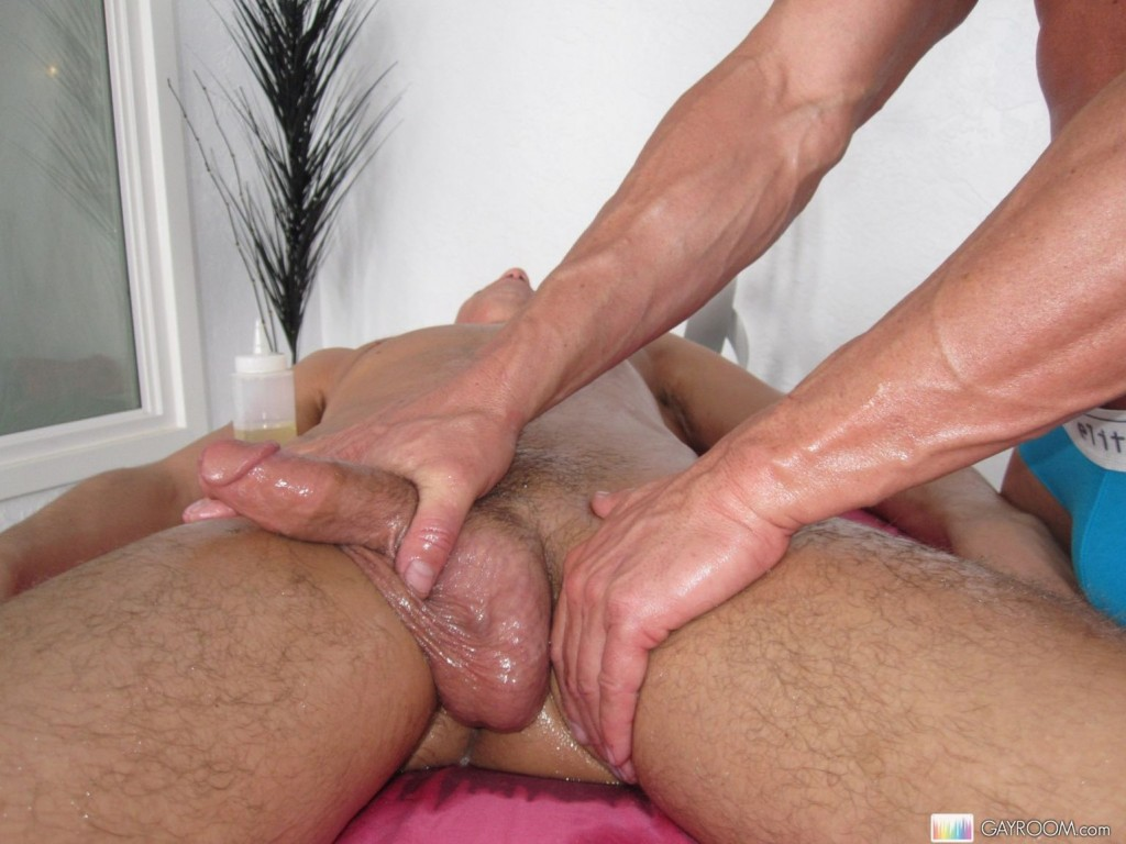 massage sex gay cumshot