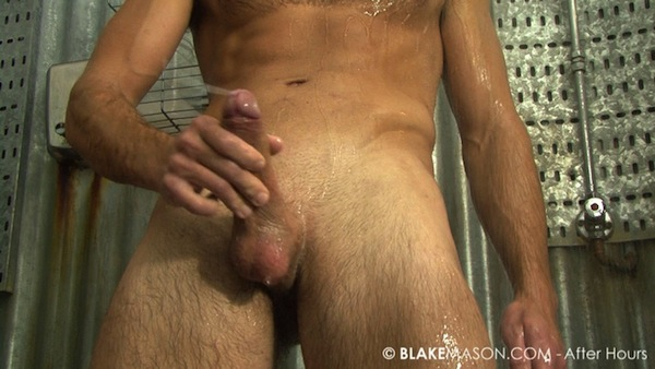 wanking contest at Blake Mason