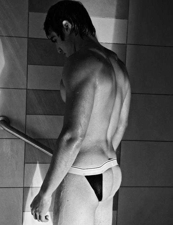 jocks showering