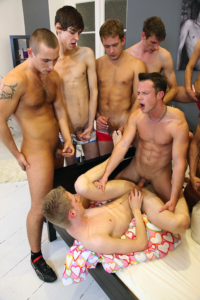 from Theodore free gay orgy vids