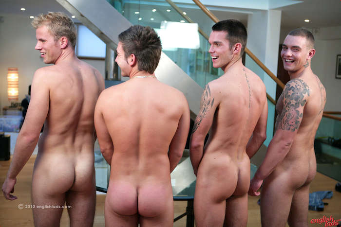 Straight male circle jerk and candid