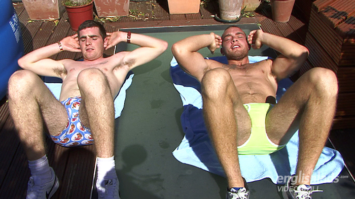 Brothers jerking off together Andy Lee and Patrick Lee 3