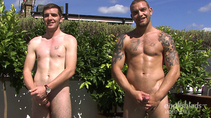Brothers jerking off together Andy Lee and Patrick Lee 6