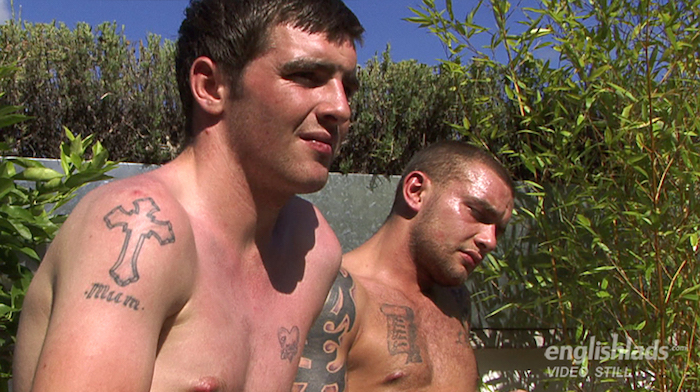 Brothers jerking off together Andy Lee and Patrick Lee 9