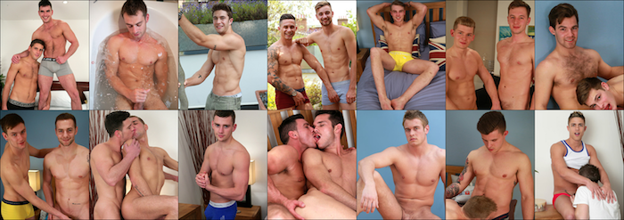 The guys appearing at Englishlads are mostly straight, aged 18 to 25, uncut and willing to explore