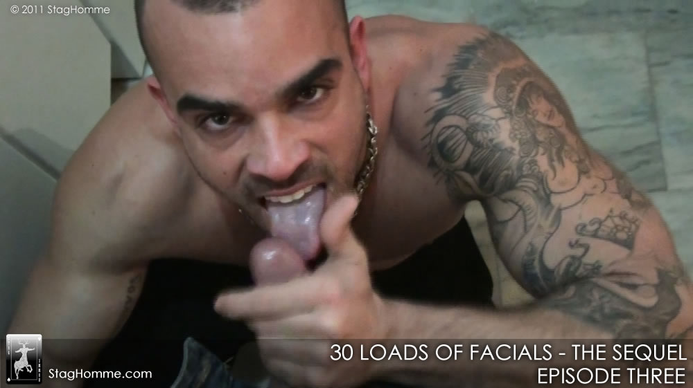 Damien Crosse Sucks Cock