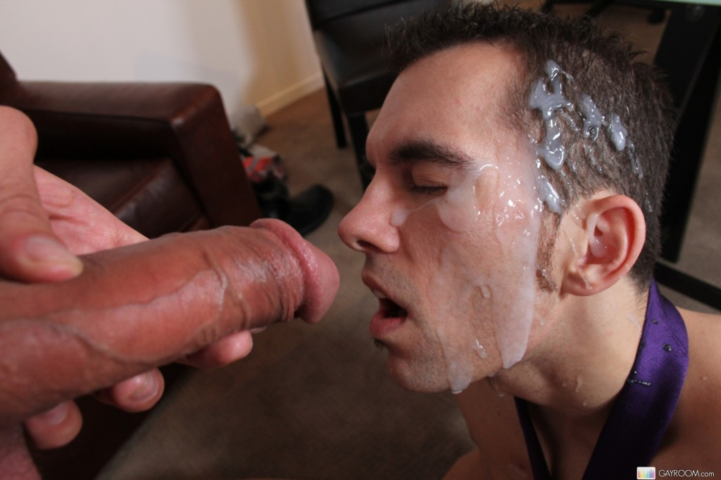 Gay Boy Facial