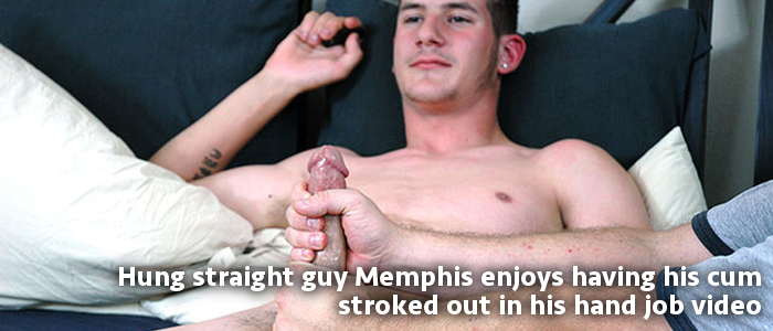 hung straight guy Memphis with massive nuts