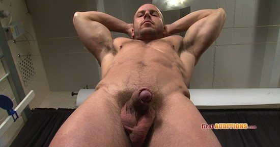 hot straight hunk uncut cock