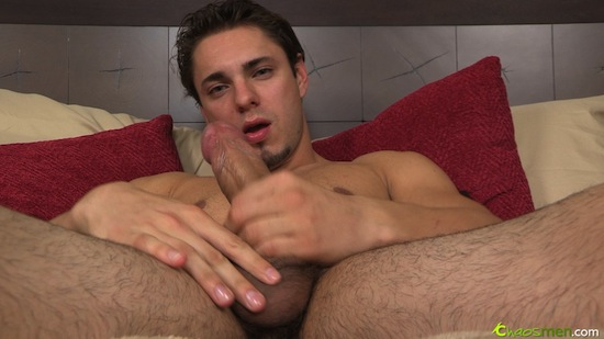 Straight Guys Thick Cock Jerk Off Video (4)