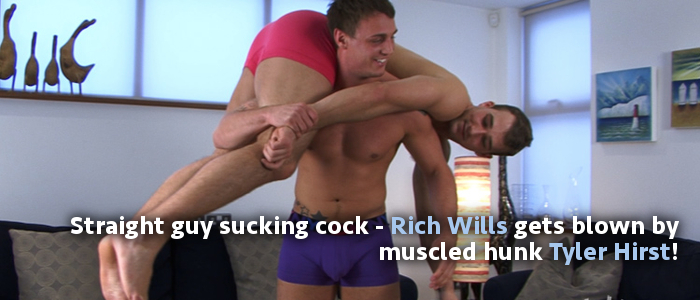 Tyler Hirst and Rich Wills sucking cock at English Lads