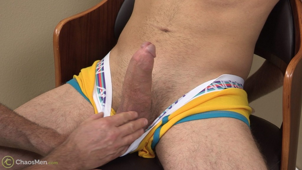 Cock edging with thick-dicked straight guy Kato 2