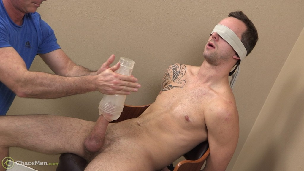 Cock edging with thick-dicked straight guy Kato 5