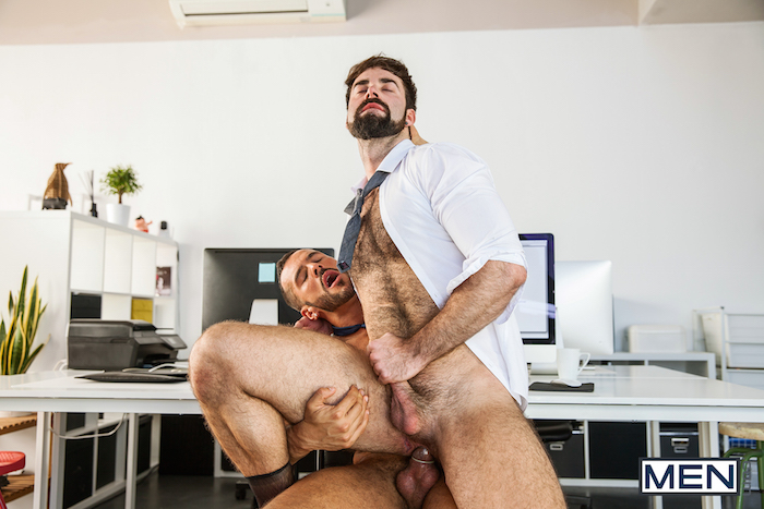 Finding the office mole - with their hard cocks 3
