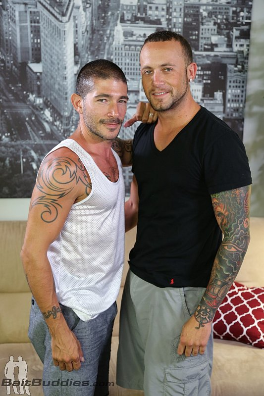 Marxel Rios and Johnny Hazzard at Bait Buddies