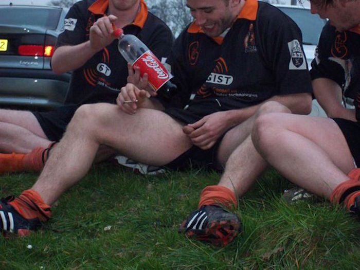 Hot and horny Rugby players like to get naked together 10