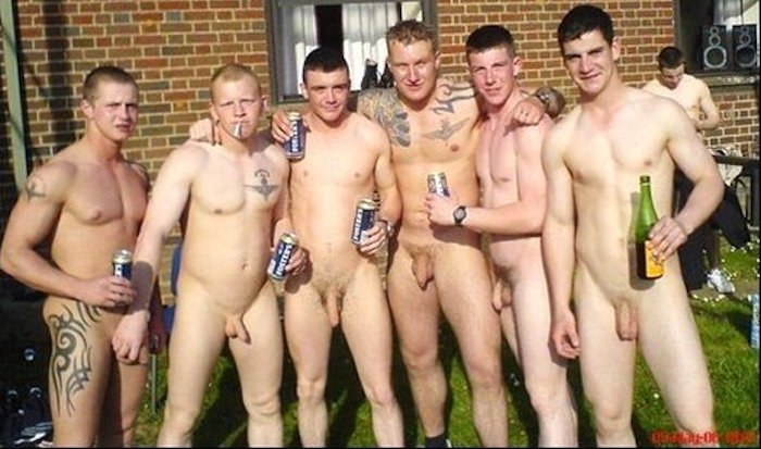Hot and horny Rugby players like to get naked together 11
