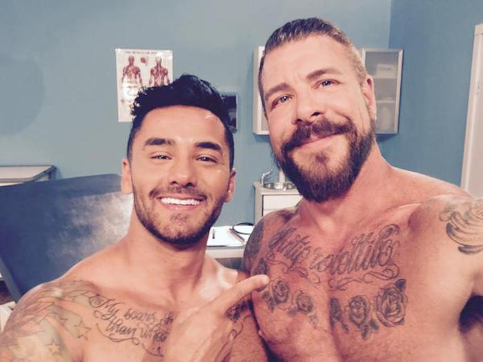 Bruno Bernal and Rocco Steele
