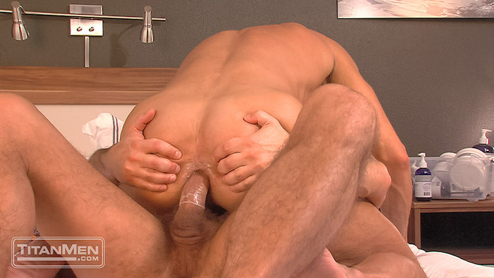 hard cock in a gay ass