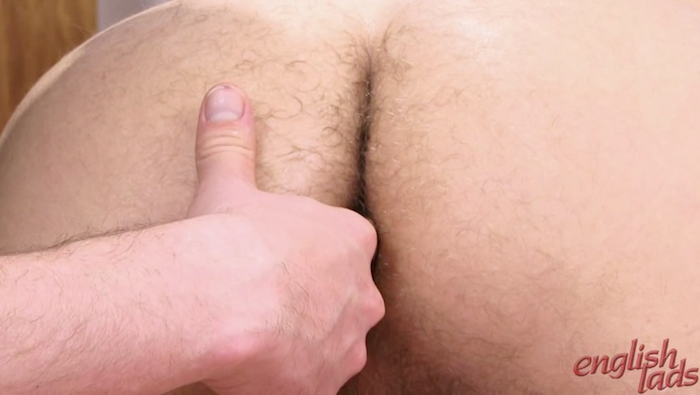 finger in a straight guy ass