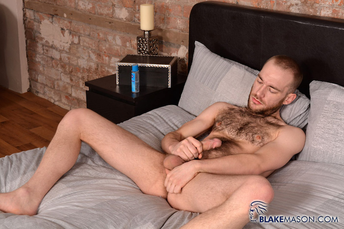 hairy jerking off