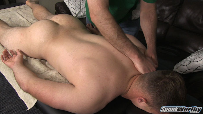 straight guy massage