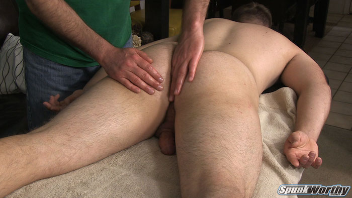 straight guy anal massage