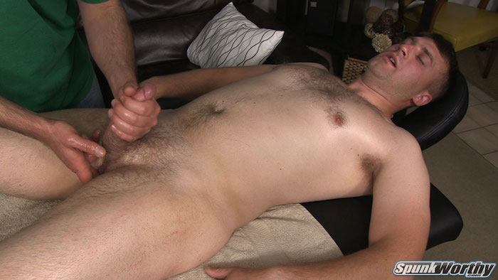 straight guy made to cum