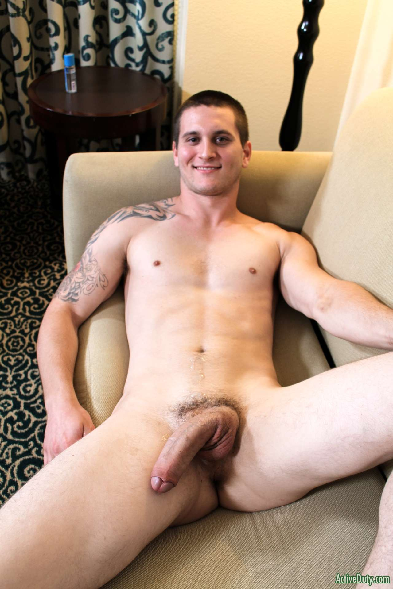 straight guy with a big floppy cock
