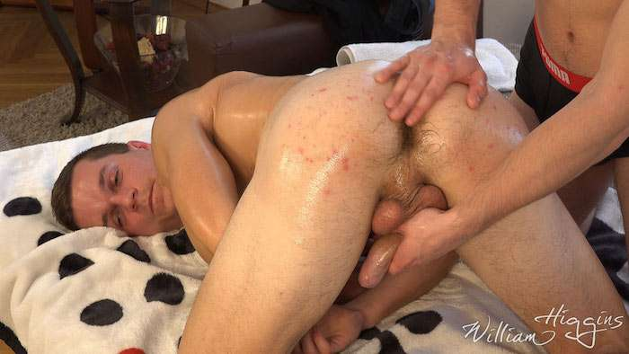 wanked and anal play on video