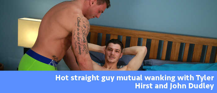 Mutual wanking with John Dudley and Tyler Hirst