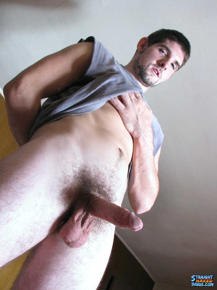 Straight men have cum on mouth for money 4