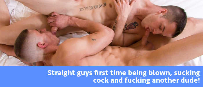 Straight Guys First Time - Jerry Price Sucks And Fucks Quentin Gainz-3381