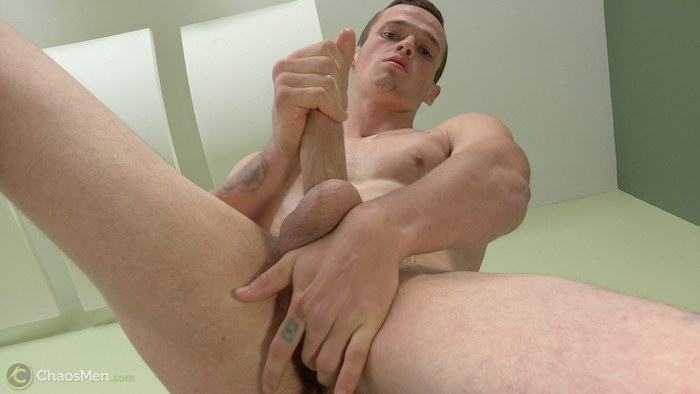 Curious straight guy Franco beats his meat and fingers his hole 6