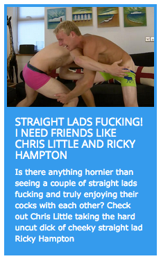 Chris Little gets fucked by Ricky Hampton
