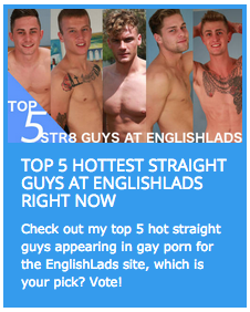 Top 5 hottest straight guys at EnglishLads right now