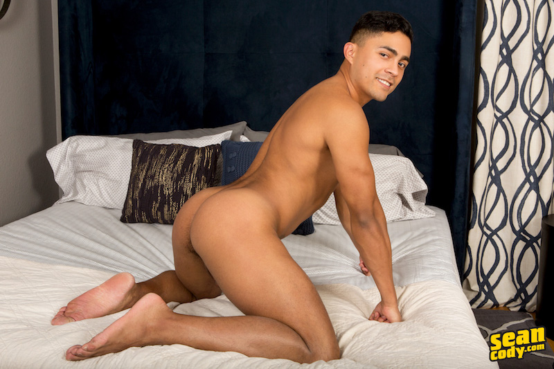 Latin jock Asher has a smooth round ass ready for fucking
