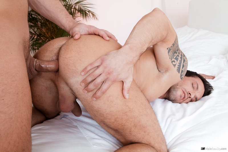 muscle man getting fucked