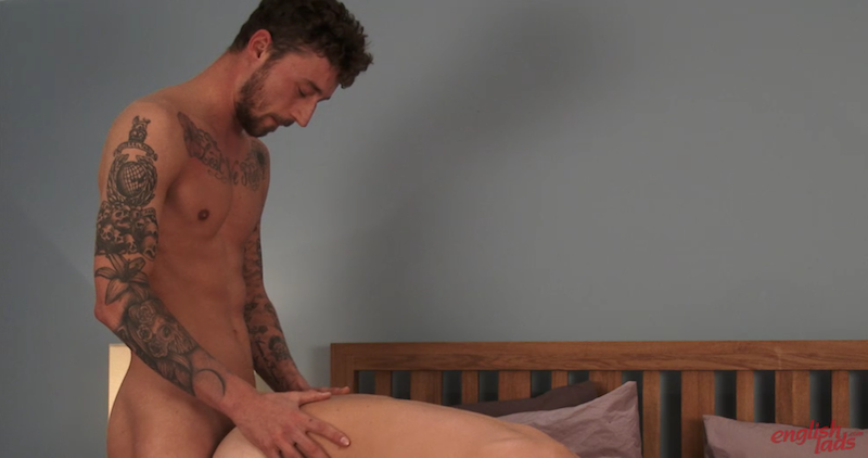 straight guy fucking another guy for the first time