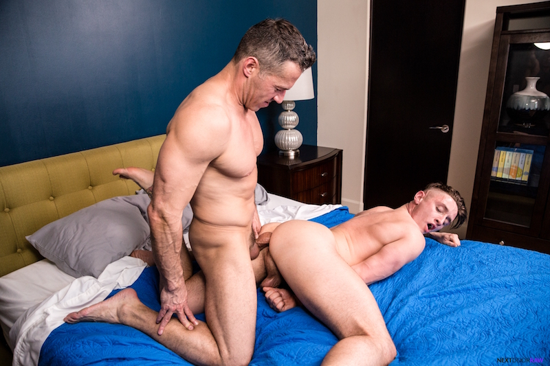 Lance Ford getting fucked bareback by Dean Phoenix