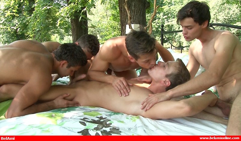 gay cock sucking orgy video