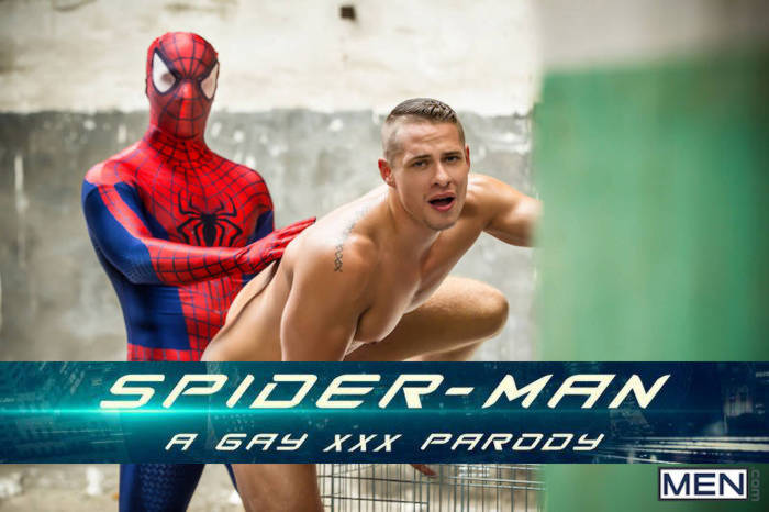 Spiderman gay porn parody part 2