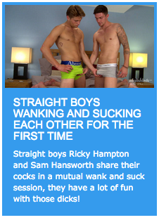 Straight boys wanking and sucking each other for the first time