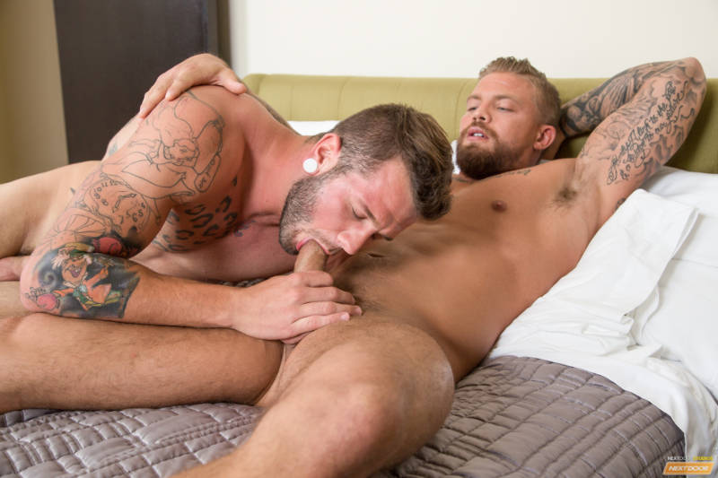 straight men sucking cock