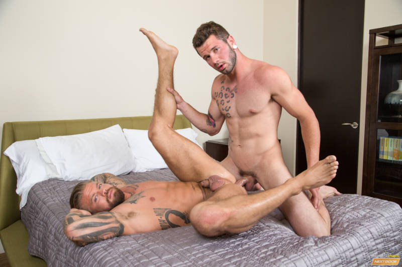 Johnny Hill fucking Donovan Wilde for the first time on video