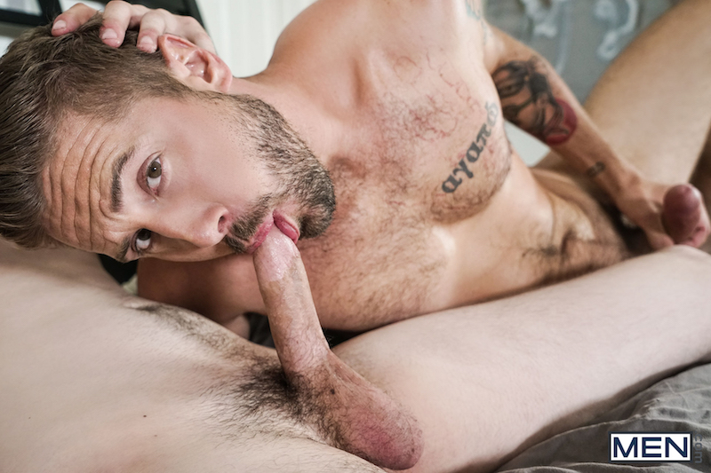 hairy jock sucking a twink cock