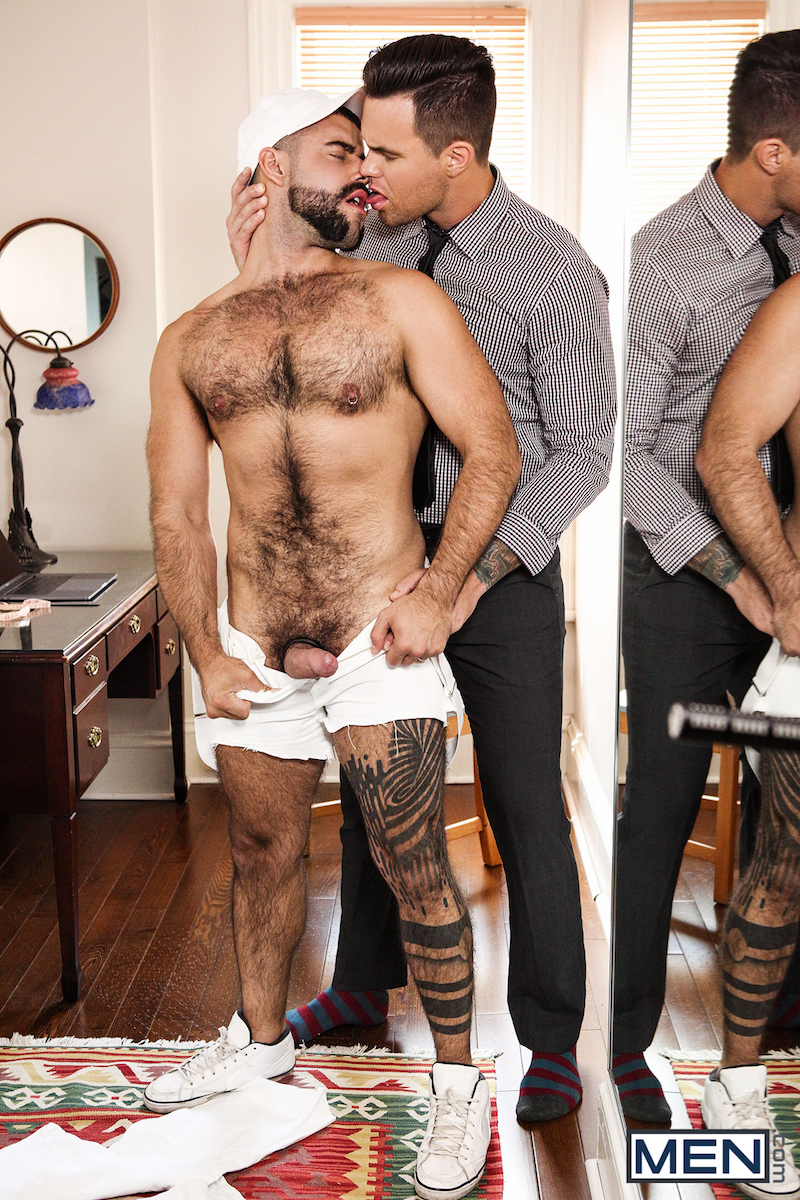 hairy top Teddy and Beau