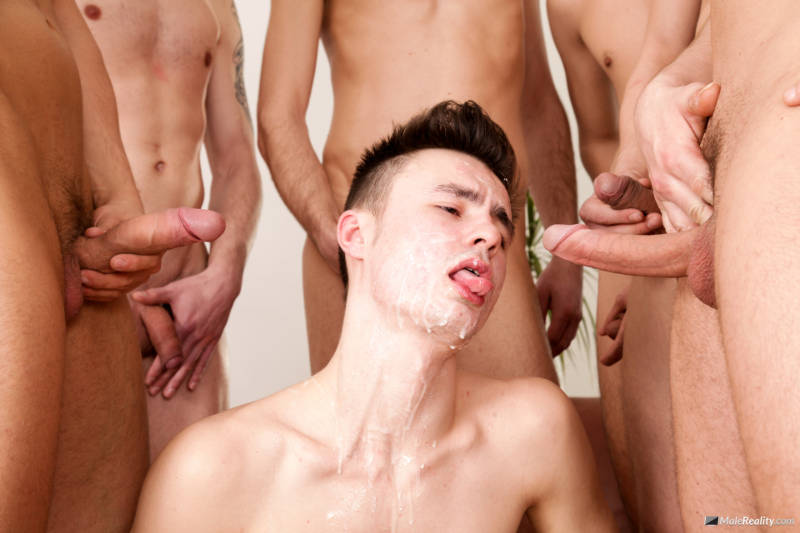 gay blowbang video