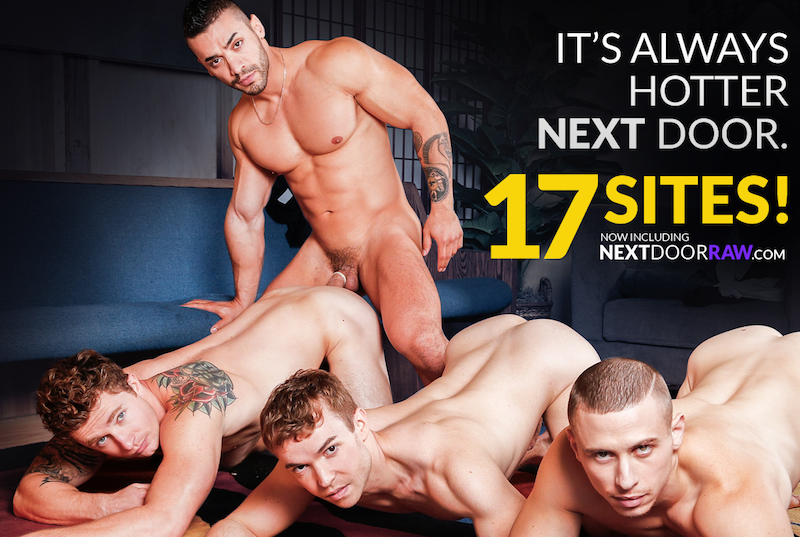 17 gay porn sites for one at Next Door